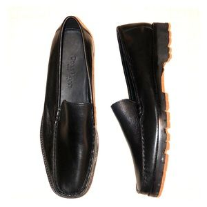 Cole Haan Lug Sole Black Loafers Shoes 10